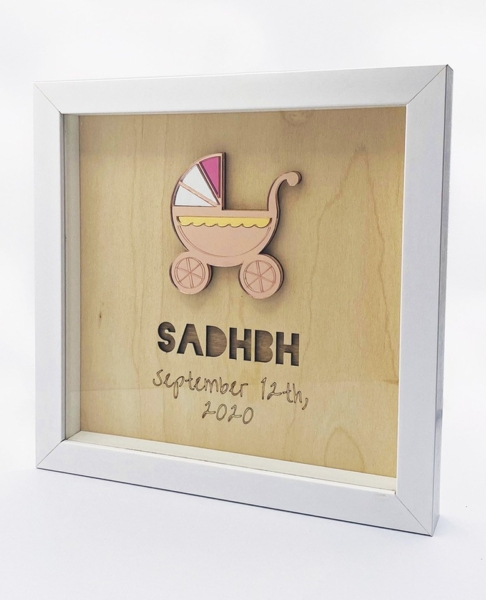 thumbnail_Avokado-Baby-Girl-Personalised-Frame